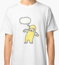 man in radiation proof suit Classic T-Shirt