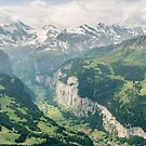 Lauterbrunnen Valley by George Wheelhouse
