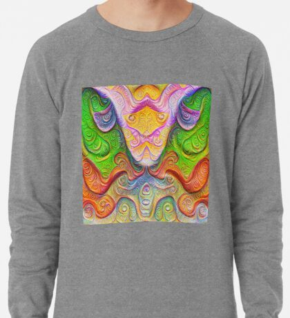 Color Stone carving #DeepDream Lightweight Sweatshirt