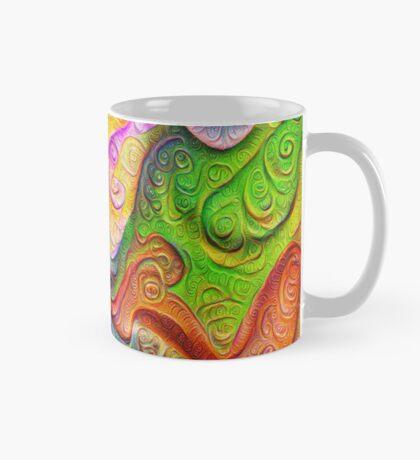 Color Stone carving #DeepDream Mug
