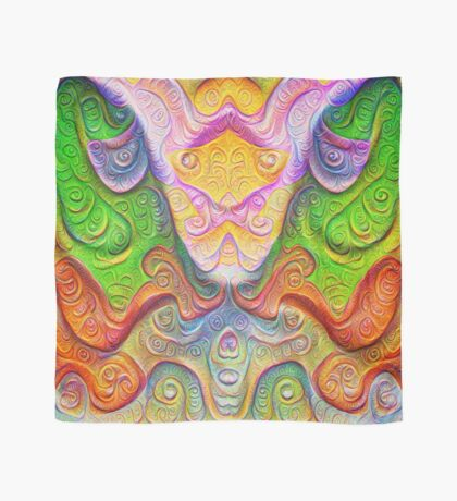 Color Stone carving #DeepDream Scarf