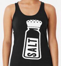 Salt \ Peppa 1/2, White Ink | Women's Best Friends Shirts, Bff Stuff, Besties, Halloween Costume, Salt And Pepper Shakers Women's Tank Top