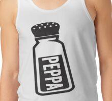 Salt \ Peppa 2/2, Black Ink | Women's Best Friends Shirts, Bff Stuff, Besties, Halloween Costume, Salt And Pepper Shakers Tank Top