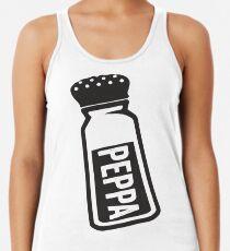 Salt \ Peppa 2/2, Black Ink | Women's Best Friends Shirts, Bff Stuff, Besties, Halloween Costume, Salt And Pepper Shakers Women's Tank Top
