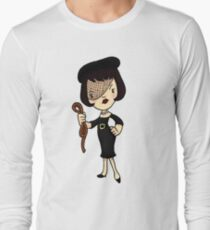 ITS A CLUE! Was it Mrs. White with the ROPE? Long Sleeve T-Shirt