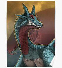 Pokemon - Salamence Poster