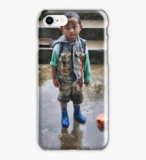 boy at Nalanda monastery iPhone Case/Skin