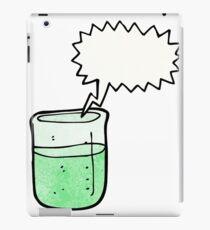cartoon chemical beaker iPad Case/Skin
