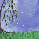 Weeping Willow by Rosalie Scanlon