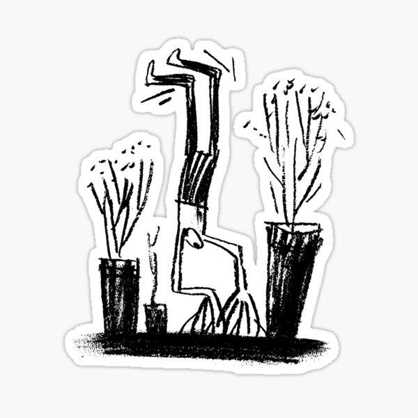 Handstand Sticker