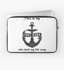 fight song Laptop Sleeve