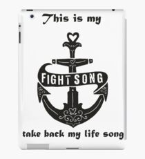 fight song iPad Case/Skin