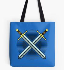 Crossed Swords Tote Bag