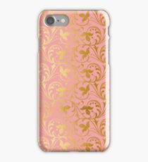 BLUSH AND GOLD WEDDING iPhone Case/Skin
