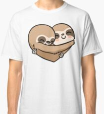 Sloth  Heart Classic T-Shirt