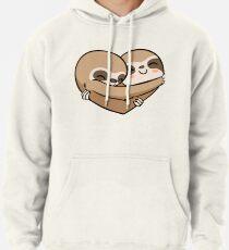 Sloth  Heart Hoodie