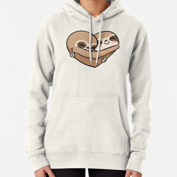 Sloth  Heart Sudadera con capucha