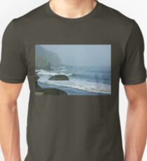 San Francisco Fog - China Beach Rolling Surf Unisex T-Shirt
