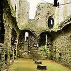 Richmond Castle, Yorkshire by hans peðer alfreð olsen