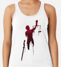 lady justice Women's Tank Top