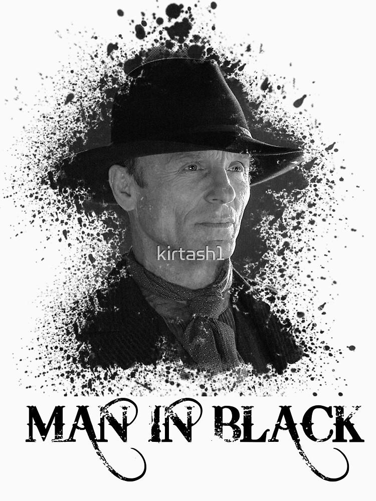 Man in the black - Westworld by kirtash1