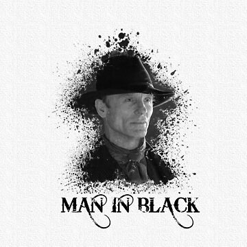 Man in the black - Westworld by kirtash1