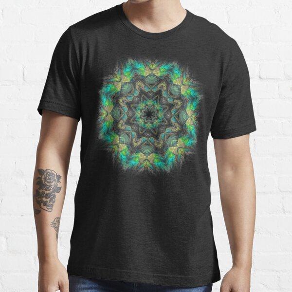 Electric Mandala Men/'s all over Baseball T Shirt-Psychédélique Festival Hippie