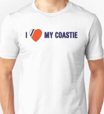 I Love My Coastie Slim Fit T-Shirt