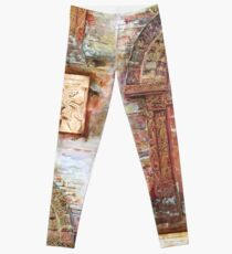 Kilpeck Church Portal Leggings