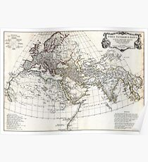 Map of Ancient World - Anville - 1794 Poster