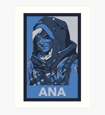 Ana HOPE Propaganda Art Print