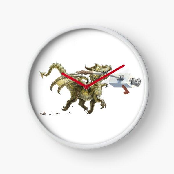 News Bearer Clock