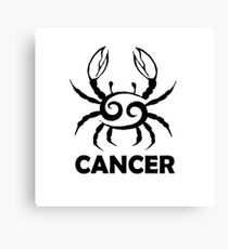 CANCER Canvas Print