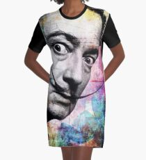 salvador dali Graphic T-Shirt Dress