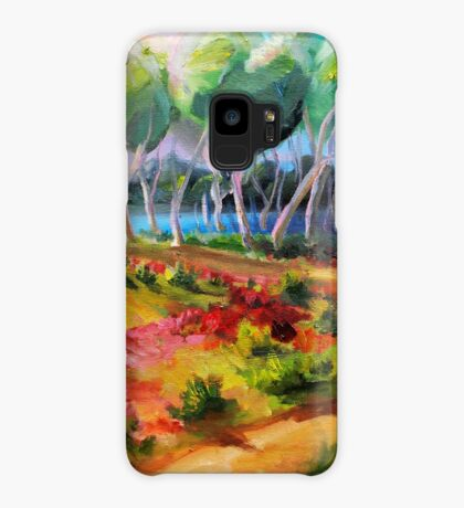 Looking at Nudgee Beach  Case/Skin for Samsung Galaxy