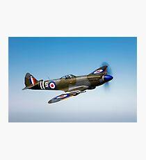 Supermarine Spitfire Mk-18 Photographic Print
