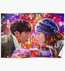 Сhristmas love couple Poster