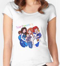 Team Mumaroo - Full Team Women's Fitted Scoop T-Shirt