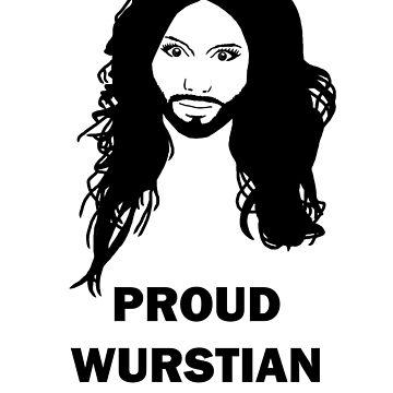 Conchita Wurst - Proud Wurstian by Sheeta