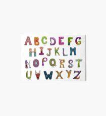Monster Alphabet Art Board