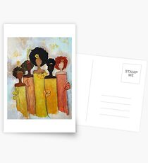 Sistahs Stand Golden Postcards