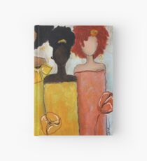 Sistahs Stand Golden Hardcover Journal