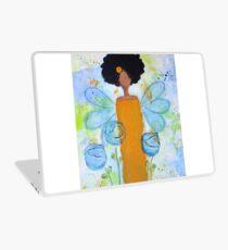 Sistah Stand Angel, African American Laptop Skin