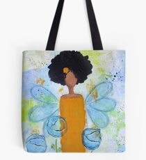 Sistah Stand Angel, African American Tote Bag