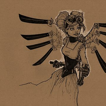 Steampunk Fairy by doodlebags
