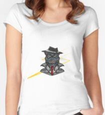 Corporate Cat Women's Fitted Scoop T-Shirt