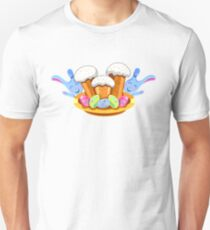 easter cakes with bunny and eggs Unisex T-Shirt