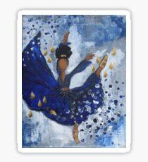 Misty Ballerina, African American Ballerina, Dance Sticker