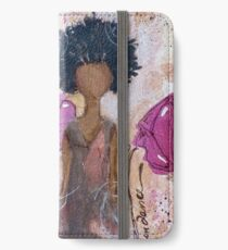 Let Your Light Shine, African American, Latina iPhone Wallet/Case/Skin
