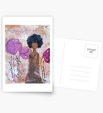 Let Your Light Shine, African American, Latina Postcards